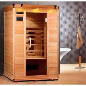 affordable 2 person saunas portable infrared units. Black Bedroom Furniture Sets. Home Design Ideas