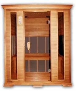 3-Person Infrared Saunas