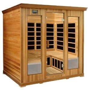 4-Person Infrared Saunas