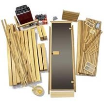 home sauna kits modular do it yourself material packages. Black Bedroom Furniture Sets. Home Design Ideas