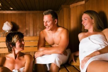 Nude Sauna Etiquette The sauna was invented in Finland, and the Finnish ...