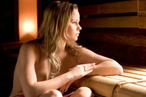 Nudist Sauna