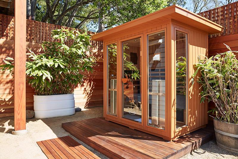 Outdoor Saunas - Clearlight Outdoor 5 Infrared