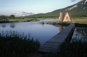 Russian Sauna in Kamchatka, Siberia