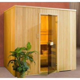 Sauna Installation - DreamLine 8' x 8' Prebuilt Sauna