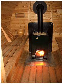 Wood Burning Sauna Heater