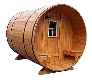 cedar barrel sauna kits ready to assemble