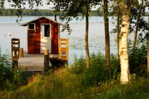 Finnish Beach Sauna