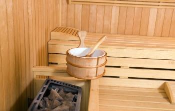Finnish Sauna Bathing - © Photographer:Krzysztof Subicki - http://www.dreamstime.com/Krzyssagit_info