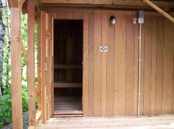 Cedar Sauna Cabin -  © Photographer: K. Urbantke - Sauna-Talk.com